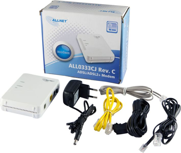 Milkys Homepage - Support for LEDE on the Allnet ADSL2+ Modem ALL0333CJ